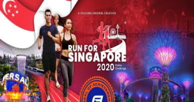 183rd Anniversary Run – Run For Singapore Online Challenge 2020